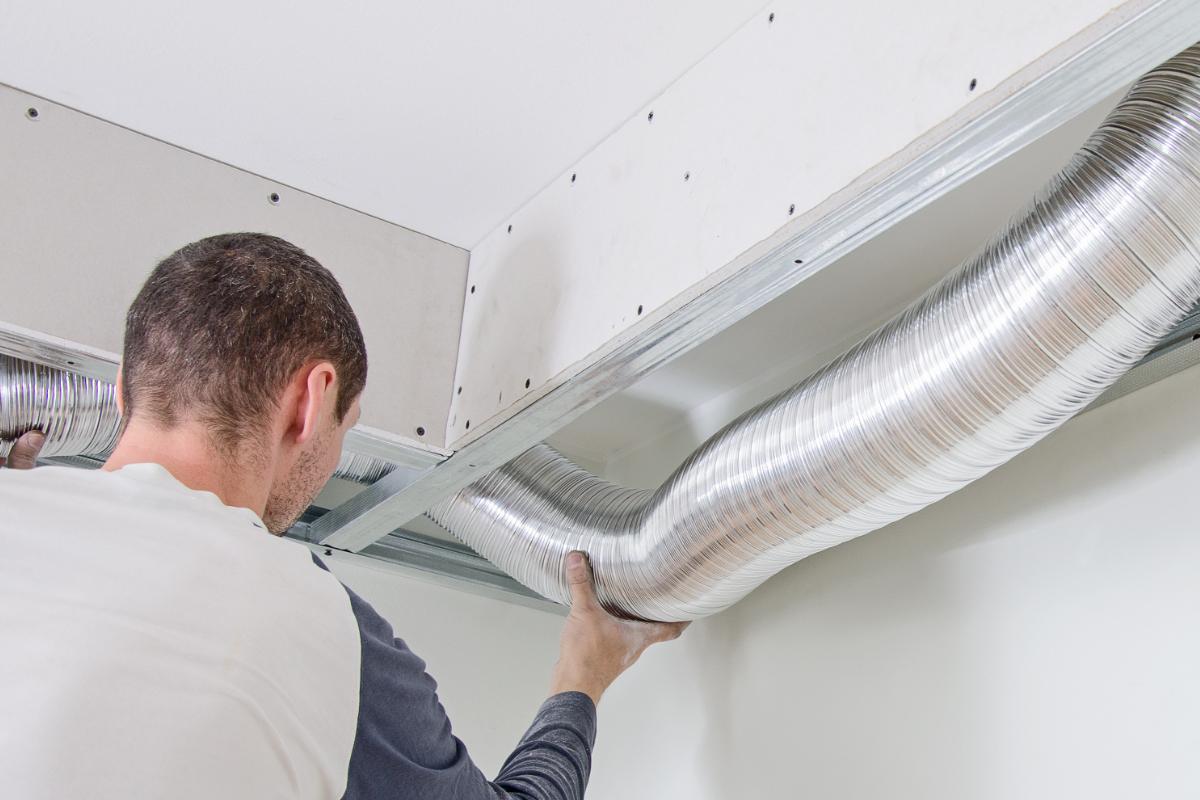 techniek voor het reinigen van ventilatie