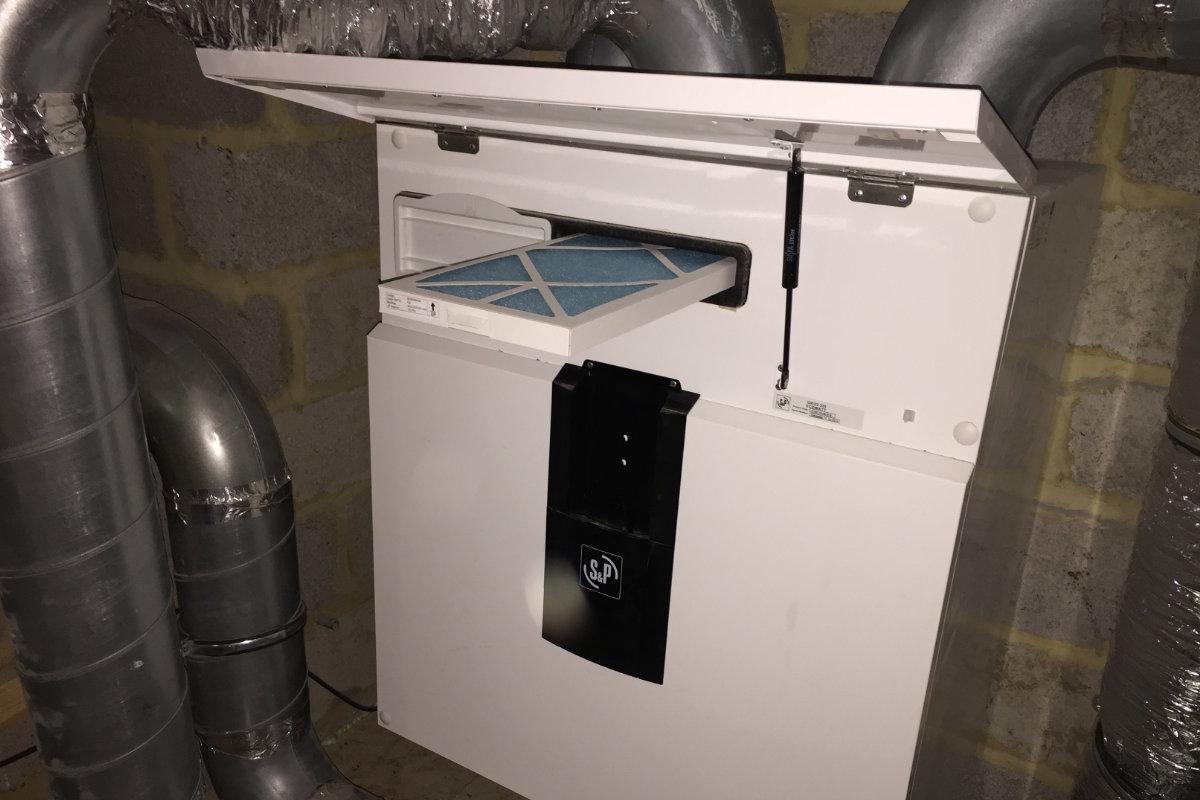 onderhoud ventilatiesysteem